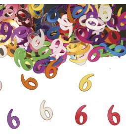 Konfetki za peti rojstni dan, pisani