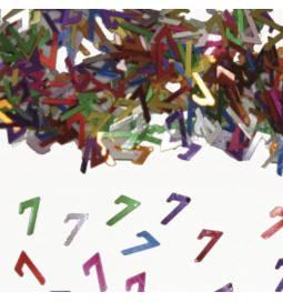 Konfetki za šesti rojstni dan, pisani
