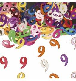 Konfetki za osmi rojstni dan, pisani