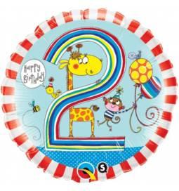 Folija balon 2. rojstni dan, Giraffe