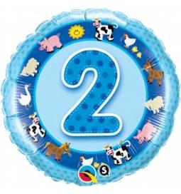 Folija balon 2. rojstni dan, Modra kmetija
