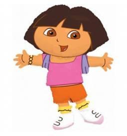 Folija balon Dora