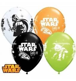 Pisani baloni Darth Vader & Yoda, 10/1