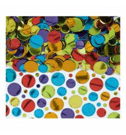 Namizni pastelni konfetki, pisani
