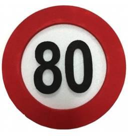Dekoracija Prometni znak za 90 let