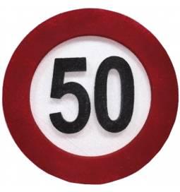 Dekoracija Prometni znak za 60 let