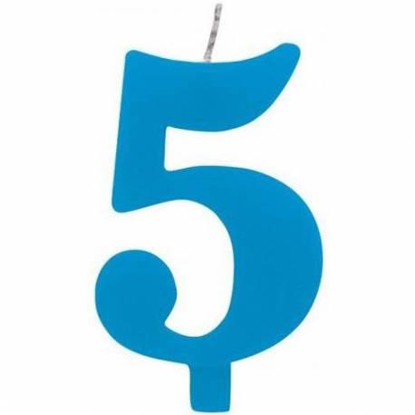 Svečka za 5. rojstni dan, Čudežna, modra