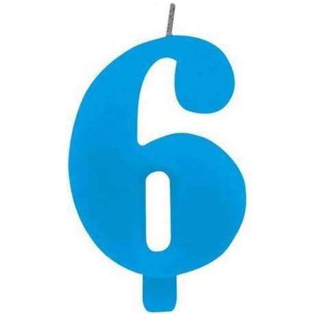 Svečka za 6. rojstni dan, Čudežna, modra