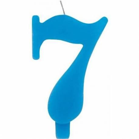 Svečka za 7. rojstni dan, Čudežna, modra