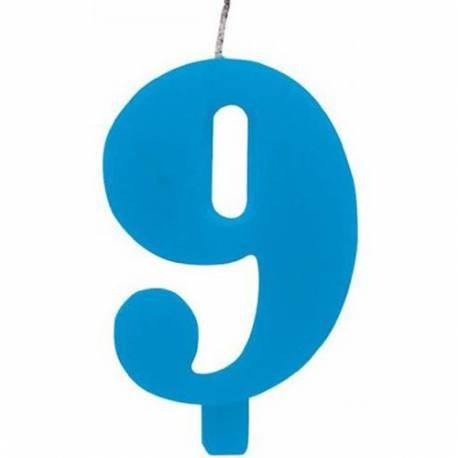 Svečka za 9. rojstni dan, Čudežna, modra