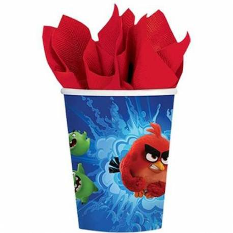 Modri kozarčki Angry Birds 266 ml, 8/1