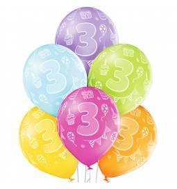 Pastelni baloni za 2. rojstni dan 6/1
