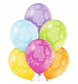 Pastelni baloni za 3. rojstni dan 6/1