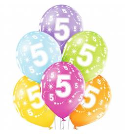 Pastelni baloni za 4. rojstni dan 6/1