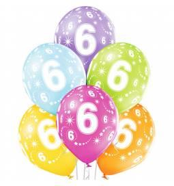Pastelni baloni za 5. rojstni dan 6/1