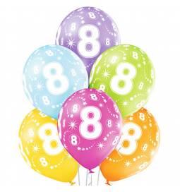 Pastelni baloni za 7. rojstni dan 6/1