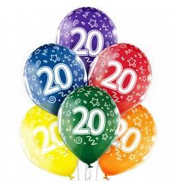 Prozorni baloni za 18. rojstni dan 6/1