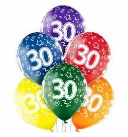 Prozorni baloni za 20. rojstni dan 6/1