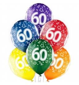 Prozorni baloni za 50. rojstni dan 6/1
