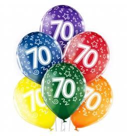 Prozorni baloni za 60. rojstni dan 6/1