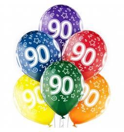 Prozorni baloni za 80. rojstni dan 6/1
