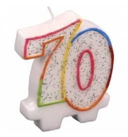 Svečka za 70. rojstni dan, Pisana