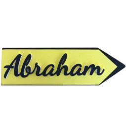 Označevalni znak Abraham, leva