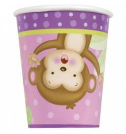 Kozarčki Girl Monkey 270 ml, 8/1