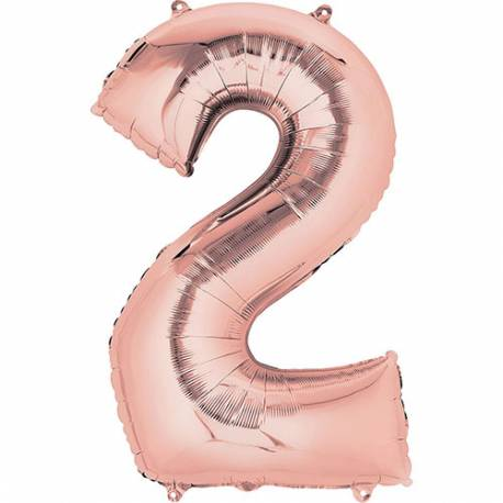XXL balon številka 1, Rose