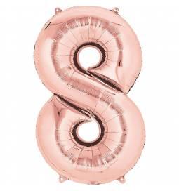 XXL balon številka 7, Rose