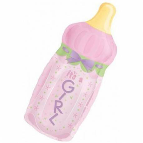 Balon za rojstvo, Pink Steklenička