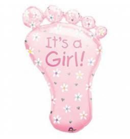 Balon za rojstvo, Pink Stopalo