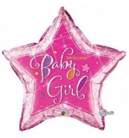 Balon za rojstvo, Velika pink zvezda