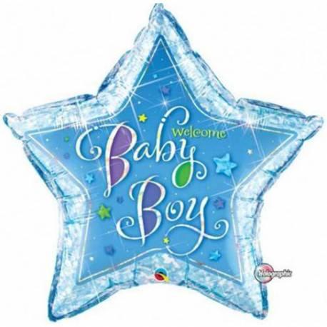 Balon za rojstvo, Velika modra zvezda