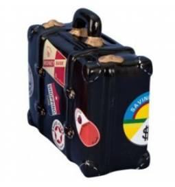 Hranilnik Potovalni kovček, rdeč