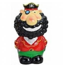 Hranilnik Pirat z rdečo ruto