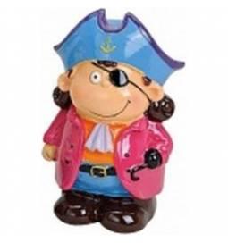 Hranilnik Pirat z modro majico