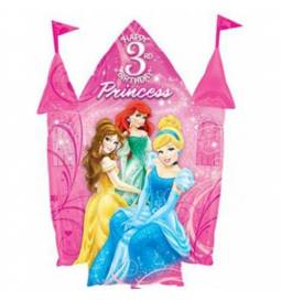 Folija balon 3. rojstni dan, Princess Castle