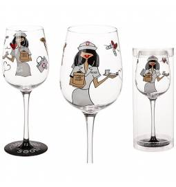Vinski kozarec Medicinska sestra