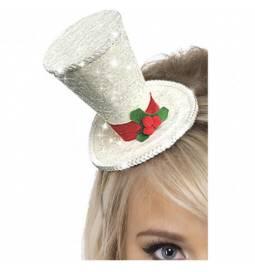 Božični mali klobuček