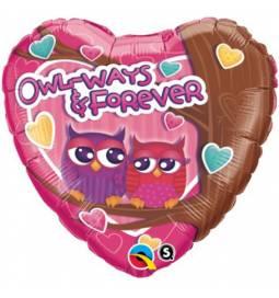 Folija balon Valentinov poljub