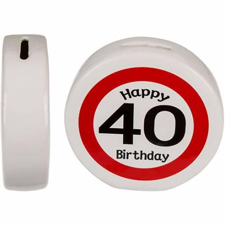 Hranilnik 30 let Happy Birthday