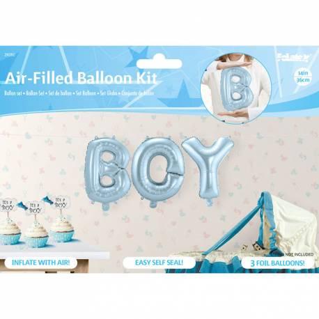 Girl set balonov za rojstvo