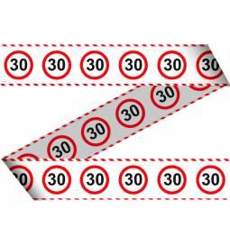 Označevalni Stop znak 30 let