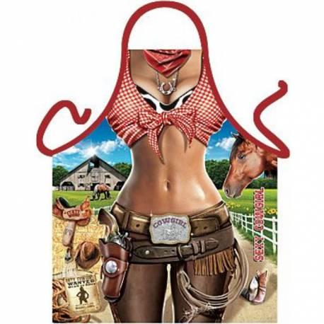 Predpasnik Sexy Cowgirl
