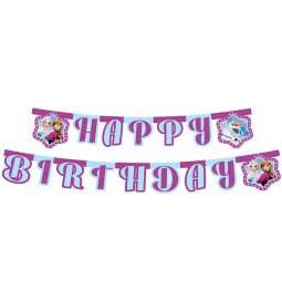 Transparent Frozen Happy Birthday