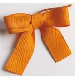 Poročna dekoracija, Pentljice, oranžna