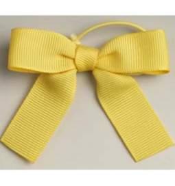 Poročna dekoracija, Pentljice, rumena