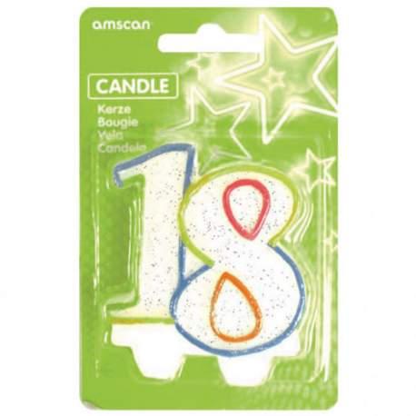 Svečka za 18 rojstni dan, pisana