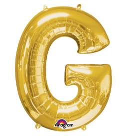 Folija balon črka G zlata